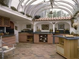 kitchen table glass modern mediterranean kitchen tiles spanish