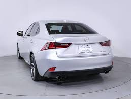 2014 lexus is 250 for sale used used 2014 lexus is 250 f sport sedan for sale in miami fl 85900