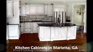 Kitchen Cabinets Marietta GA Wood Finishing Unlimited YouTube - Kitchen cabinets marietta ga