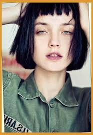 hairstyles for straight across bangs 15 short blunt haircuts short straight hair straight bob and