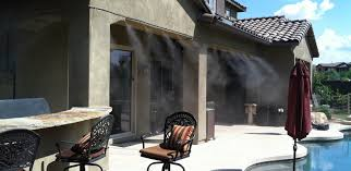 phoenix residential misting systems home mister systems az