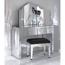 Small White Vanity Table Bedroom Furniture Mirrored Makeup Table Small Mirrored Dressing