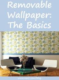 this website has affordable removable wallpaper great for