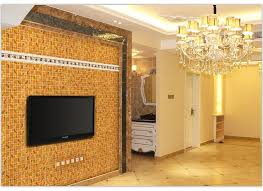 Gold Items Crystal Glass Mosaic Tile Wall Backsplashes by Gold Foil Plating Crystal Glass Mosaic Hmgm2032a For Kitchen