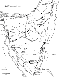 Exodus Route Map thoughts on jebel al lawz as the location of mount sinai