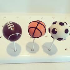 halloween cake pops bakerella sports cake pops soccer football basketball fayescakepops com