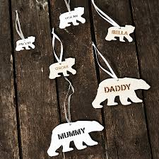 personalised polar decoration by