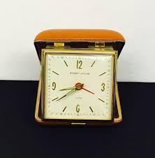 Linden Mantel Clock Rare Vintage Westclox Baby Ben Mechanical Winding Travel Alarm