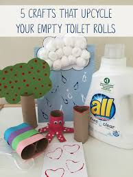 Upcycle Crafts - this summer try these 5 upcycle crafts your children will have