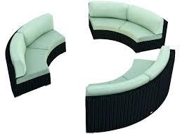 Curved Sofa Set Curved Outdoor Sofa Wojcicki Me