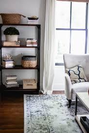 modern farmhouse living room home decor style swap bookshelf in modern farmhouse living room