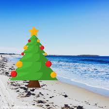 beach themed christmas throw pillows christmas mosaic