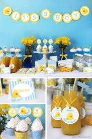 duck decorations duck baby shower decorations printable baby shower party