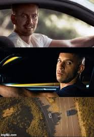 Fast And Furious Meme - fast and furious 7 final scene blank template imgflip