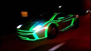 lamborghini aventador headlights in the dark tron lamborghini gallardo by 201wrap youtube