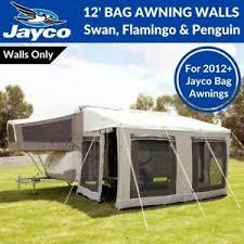 Bag Awnings 12 U0027 Ft Jayco Bag Awning Walls Only For Swan Flamingo U0026 Penguin