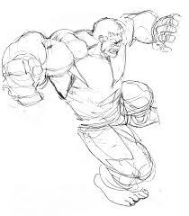 incredible hulk art robert atkins art