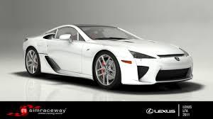 lexus lfa race car simraceway lexus lfa