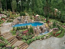 pool garden ideas inground swimming pool landscaping ideas u2014 home landscapings