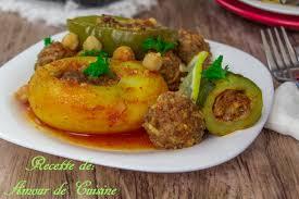 comment cuisiner les courgettes au four dolma legumes farcis a la viande hachee au four amour de cuisine