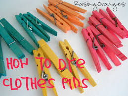 the food coloring pins yellow orange and red were made by