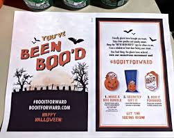 surprise your neighbors this halloween with a homemade boo kit