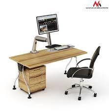 Sit Stand Desk Mount by Maclean Mc 728 Single Ekranas Sit Stand Workstation Desk Mount