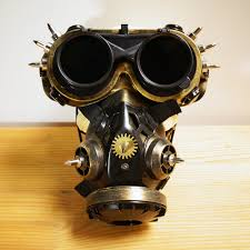 gas mask costume steam mask steunk mask gas masks daft mighty road