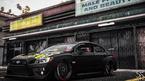 2015 subaru wrx modified 2016 subaru wrx sti replace tuning gta5 mods com