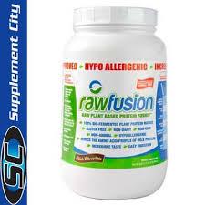 san rawfusion san fusion 900g vegan protein supplement city