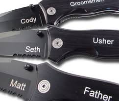 personalized knives groomsmen lazerdesigns promotional items personalized gifts all laser