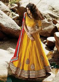 lengha choli for engagement yellow designer wear indian lengha choli for engagement
