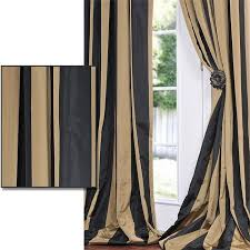 Black And Gold Curtain Fabric Marvelous Black Gold Curtains Designs With Exclusive Fabrics Black
