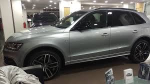 Audi Q5 65 Plate - floret silver extended black edition q5 picked up today