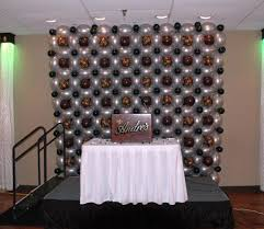 cute room decoration for birthday party with simple table also