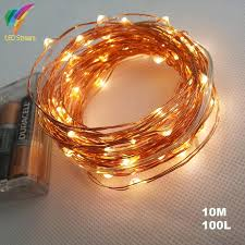 aa battery operated 33ft 10m 100 led wedding