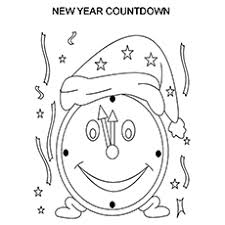 top 25 new year coloring pages for toddlers