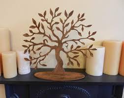 metal tree decor etsy