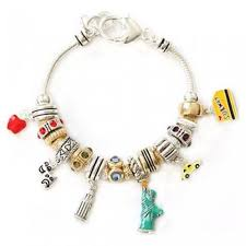 pandora bracelet with charms images Bracelets with all ny charms jpg