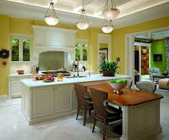 kitchen island with attached table 15 beautiful kitchen island with table attached home design lover