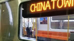 gov baker tours mock up of new mbta trains cbs boston