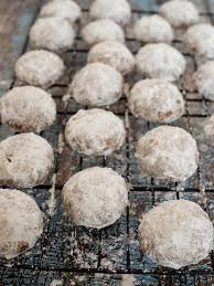 nutella snowball cookies