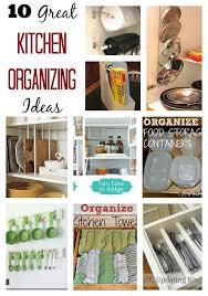 10 easy kitchen organization ideas