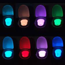 blingco toilet night light led sensor motion activated toilet