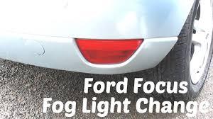 htl how to remove and replace ford focus rear fog or reverse