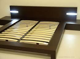 Wooden Platform Bed Frame Aria Italian Platform Bed Haiku Design