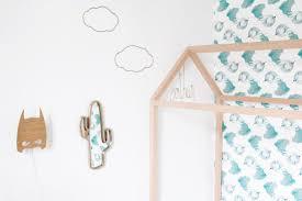 deco chambre hello de la déco en forme de maison pour la chambre des enfants