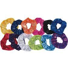 hair scrunchies tappers pointers shine hair scrunchies click dancewear