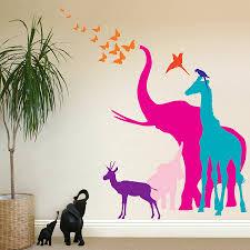 Animal Wall Decals For Nursery by 9 Nursery Animal Wall Decals Nursery Impressive Tree Animal