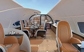 this is what it u0027s like inside a private jet designed for